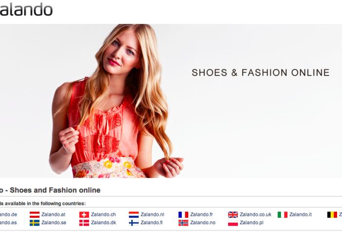 德国时尚电商Zalando 上季度销售同比大增74% (四年累计亏1.7亿欧元)