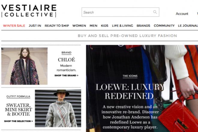 法国二手奢侈品交易平台 Vestiaire Collective 融资 5800万欧元
