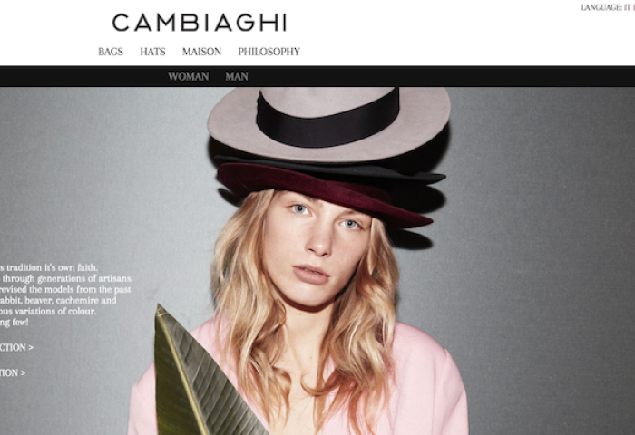 130多年历史的意大利奢侈帽子品牌 Cambiaghi 获 AVM Gestioni 投资