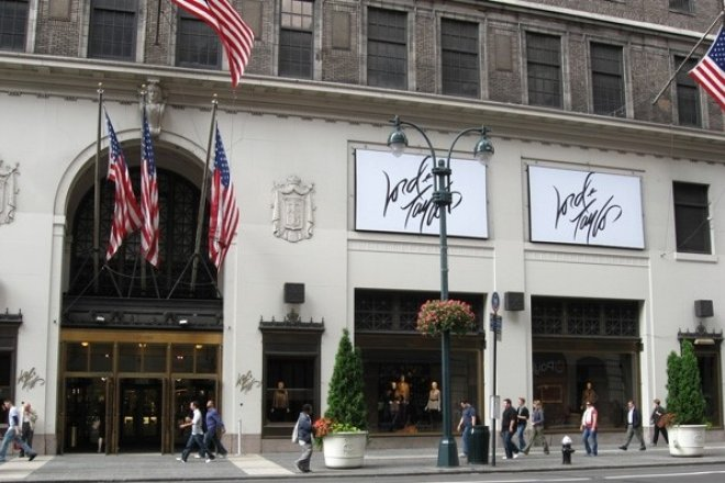 共享办公空间巨头WeWork 8.5亿美元收购美国最古老的奢侈百货公司 Lord &Taylor纽约旗舰店