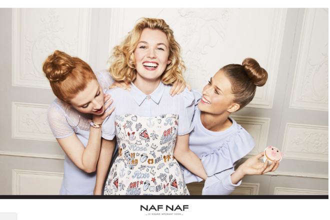 外媒披露:法国时尚集团Vivarte旗下品牌Naf Naf或将出售给上海拉夏贝尔