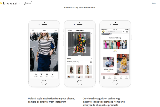LVMH 旗下私募基金前高管创业,推出人工智能驱动的社交购物app:Browzzin