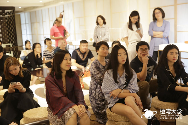"""橙湾5月课程图文回顾:拜访""""上下""""旗舰店,深入了解新一代中国特色奢侈品牌的打造历程"""