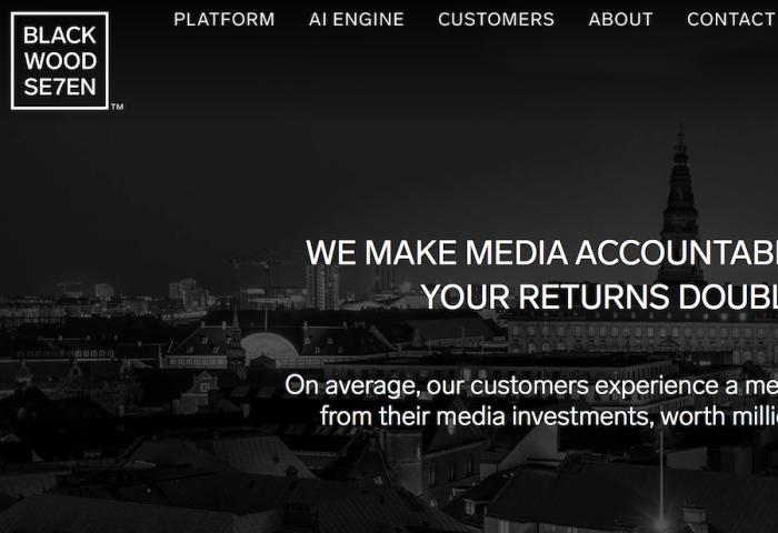 用人工智能让广告投放不再盲目:丹麦软件公司Blackwood Seven获得投资
