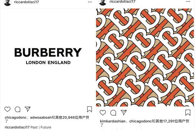 Burberry 近20年来首次更换品牌 logo 和字母印花图案