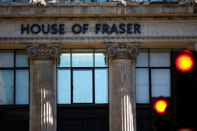 英国亿万富豪 Mike Ashley 将以9000万英镑控股破产边缘的英国高端百货 House of Fraser