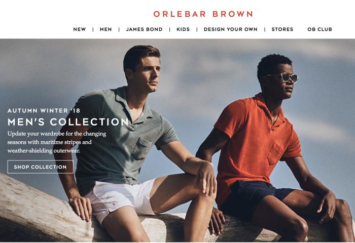 Chanel 收购互联网起家的英国高端男士泳装品牌 Orlebar Brown
