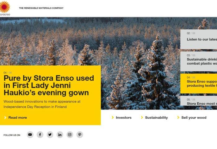 推动环保纤维量产!H&M和宜家支持的 TreeToTextile与北欧纸张生产商 Stora Enso 达成合作