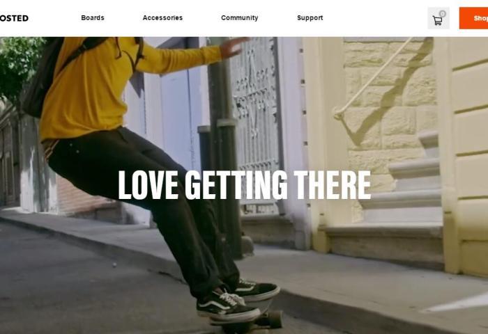 电动滑板制造商Boosted获得6000万美元B轮投资:志在影响数十亿人的出行方式