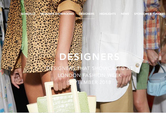 脱欧阴影笼罩下,伦敦时装周继续涌现一批新锐设计师创业品牌