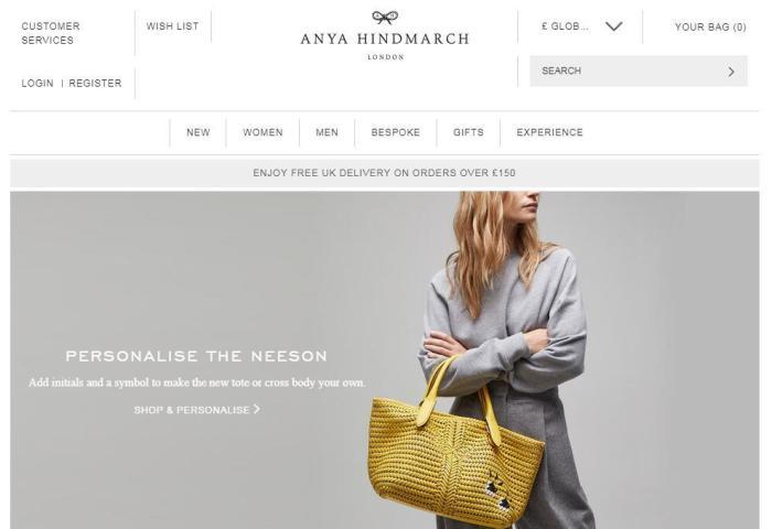 英国时尚设计师品牌Anya Hindmarch找到新东家:英国 Marandi 家族