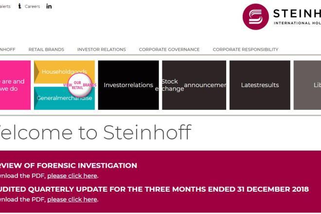 历时14个月调查,全球最大的家用品零售商之一 Steinhoff 被发现会计欺诈高达74亿美元