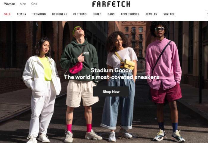 英国奢侈品电商 Farfetch最新季报亏损扩大,但分析师积极表态让股价在大跌22%后有所反弹