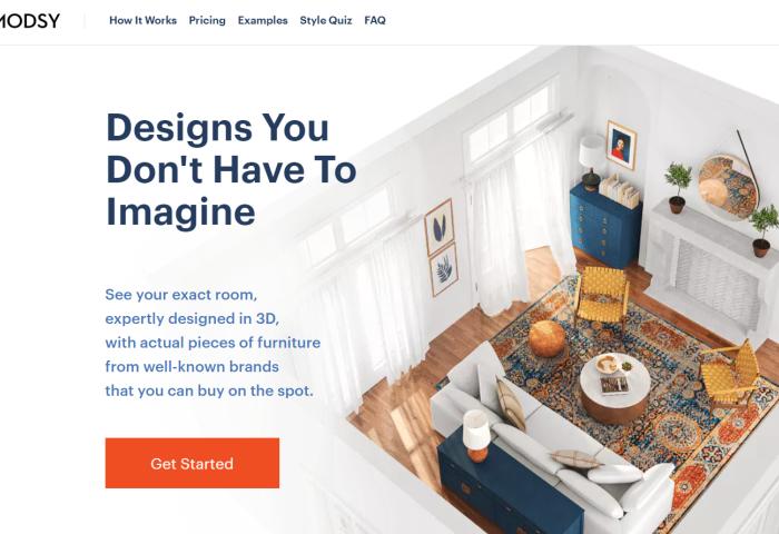 69美元就能拥有自己的室内设计师!3D 家居设计公司 Modsy 完成3700万美元C轮融资