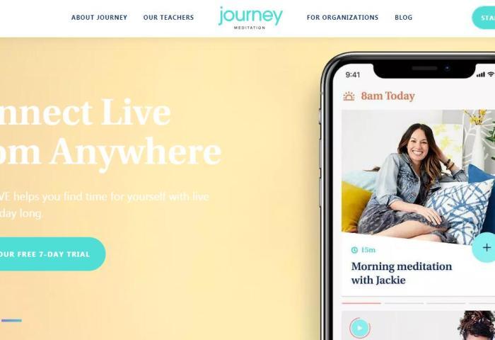 团体冥想App技术公司 Journey Meditation完成240万美元种子轮投资