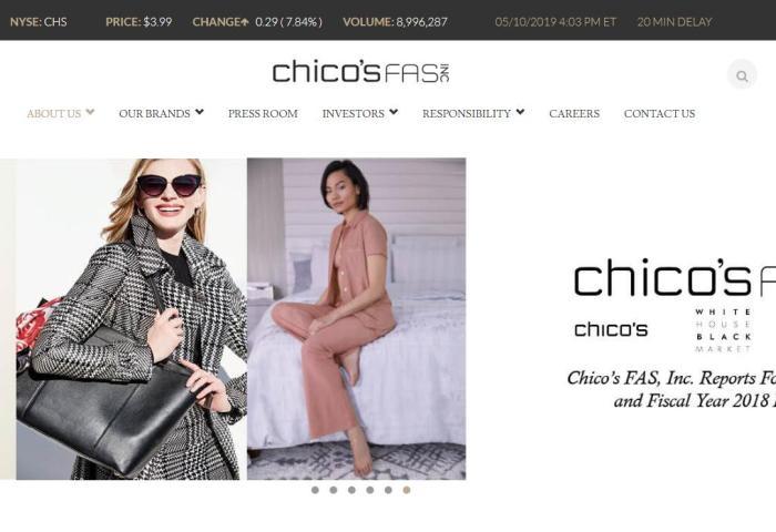 二次尝试依旧无功而返,Chico's 再度拒绝私募基金 Sycamore 4.08亿美元的收购报价