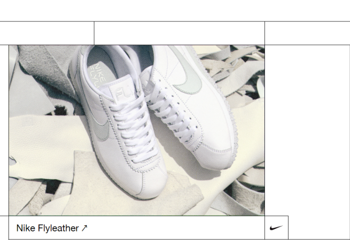 Nike 发布可持续设计指南:公布材料循环再生十大准则