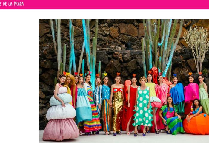 将时尚与旅行融为一体:西班牙火山岛 Lanzarote 举办时装周