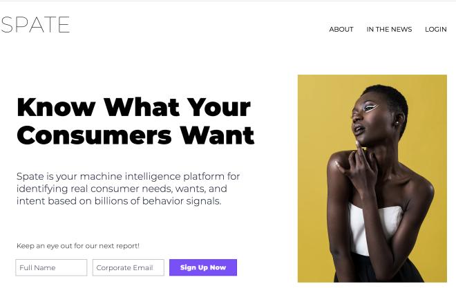 帮助品牌更快更准发现消费新趋势! 谷歌前员工创办的消费者情报公司 Spate 完成180万美元种子轮融资