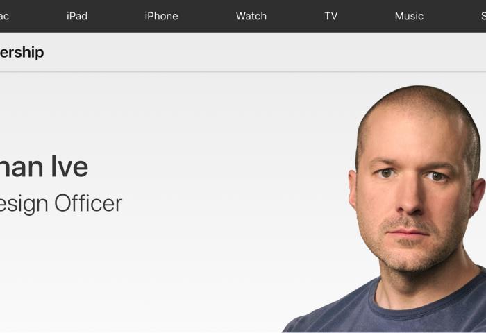 为苹果公司效力近30年的设计大神 Jony Ive 将离职,创办独立设计公司 LoveFrom