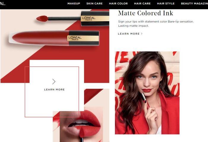 欧莱雅集团提供技术支持,亚马逊将推出虚拟口红试色服务