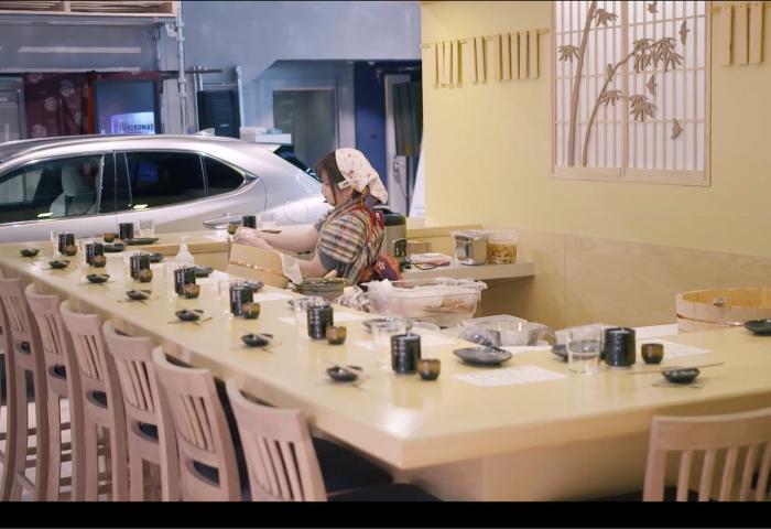 联手东京女主厨,雷克萨斯在斯德哥尔摩开了一家寿司店:两天3000多人订位!
