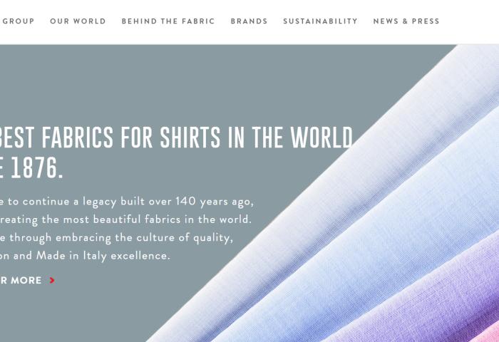 意大利衬衫面料厂商 Gruppo Albini 2018年盈利大涨50%,表现为过去三年最佳