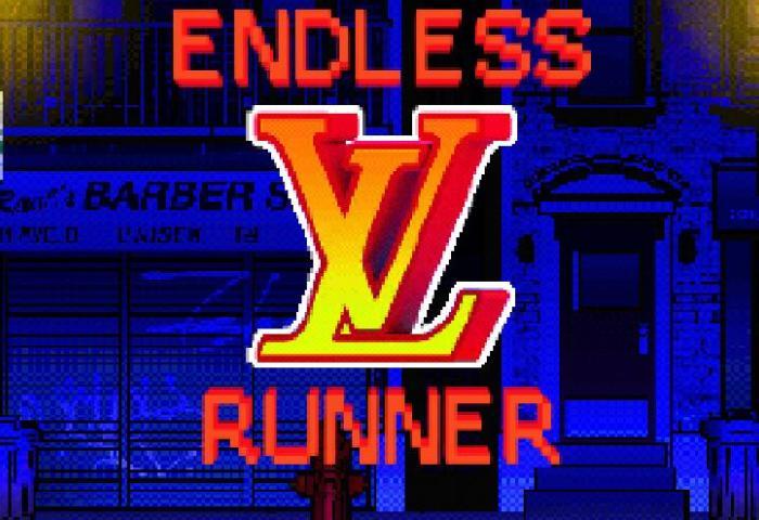 路易威登发布复古跑酷小游戏《Endless Runner》,灵感来自Virgil Abloh操刀的19秋冬男装秀场