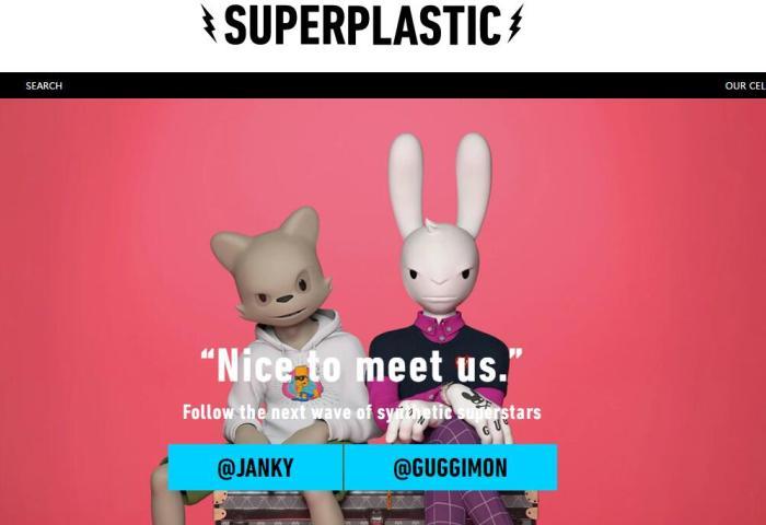 让潮玩角色活起来!设计师潮玩公司 Superplastic 完成1000万美元A轮融资