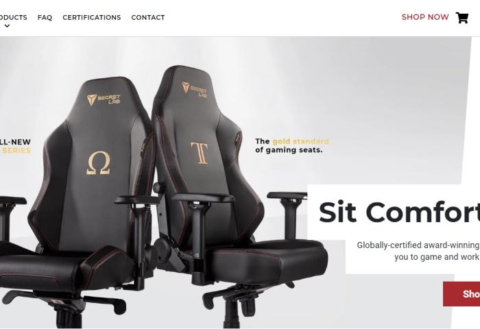 新加坡电竞椅制造商 Secretlab 获淡马锡子公司 Heliconia 少数股权投资