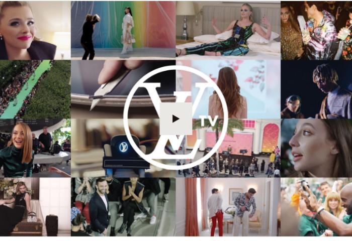 Louis Vuitton 推出独家 YouTube 视频栏目LVTV,分享品牌幕后花絮