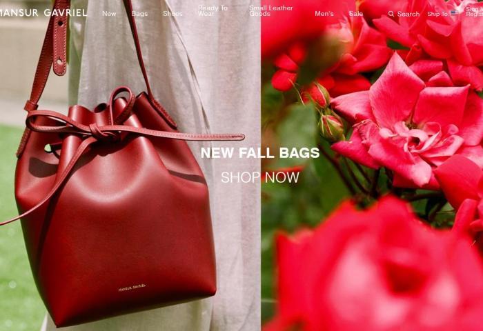 以水桶包闻名的纽约新锐包袋品牌 Mansur Gavriel 被私募基金 GF Capital 控股