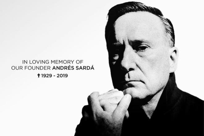 当代女式内衣的开创者,西班牙时装设计大师 Andrés Sardá 逝世,享年 90岁