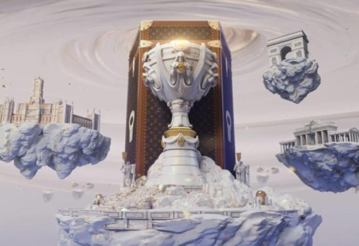 "Louis Vuitton 联手腾讯控股的知名游戏""英雄联盟"",为其全球总决赛奖杯打造专属旅行箱"