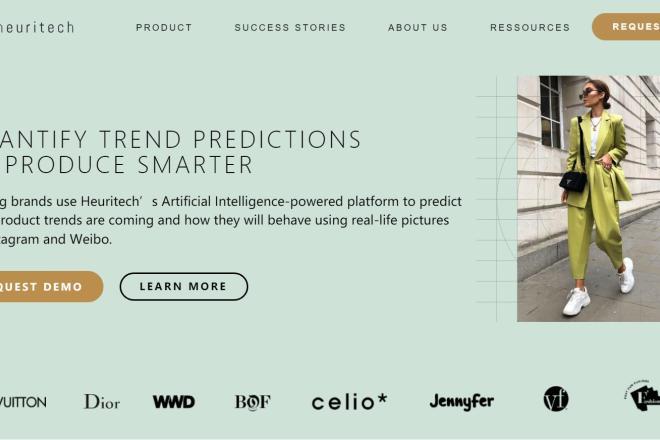 首届 LVMH 创新大奖得主、时尚趋势预测公司 Heuritech 完成400万欧元A轮融资