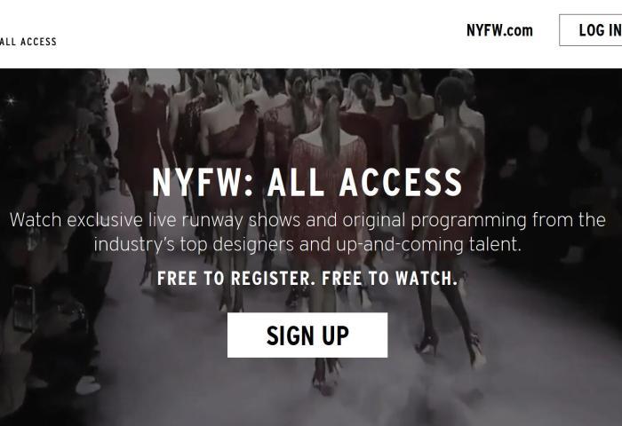 无需亲临现场就能看秀,2020春夏纽约时装周推出流媒体直播服务