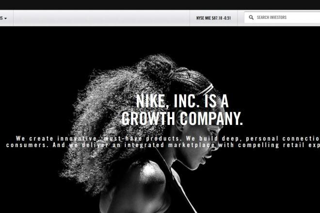 Nike最新季报:大中华地区销售劲增27%
