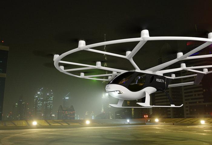 """吉利联手戴姆勒投资德国""""电动飞车"""" Volocopter,布局城市空中出行解决方案"""