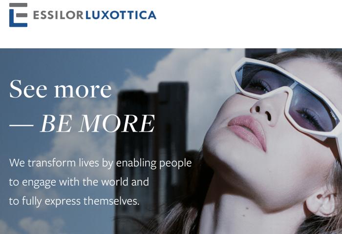 眼镜巨头 Essilorluxottica 交出合并后最佳季报:销售额同比增长8.4%
