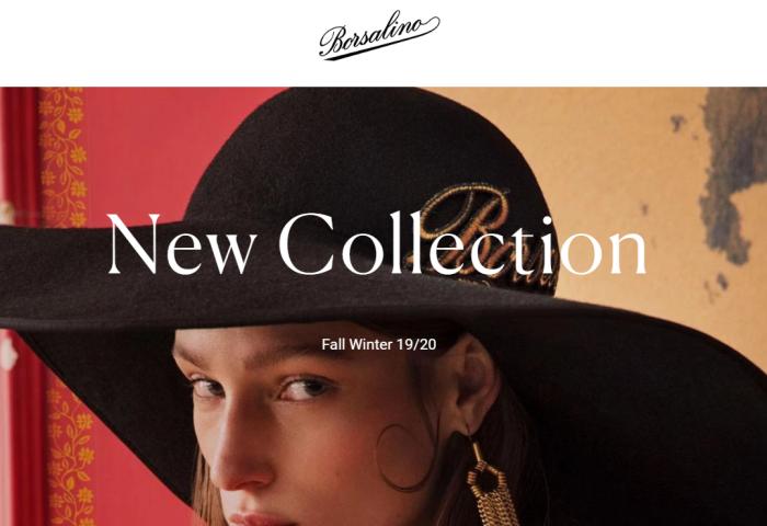 起死回生的意大利老牌制帽商 Borsalino 拓展新产品线,2018年销售额实现增长