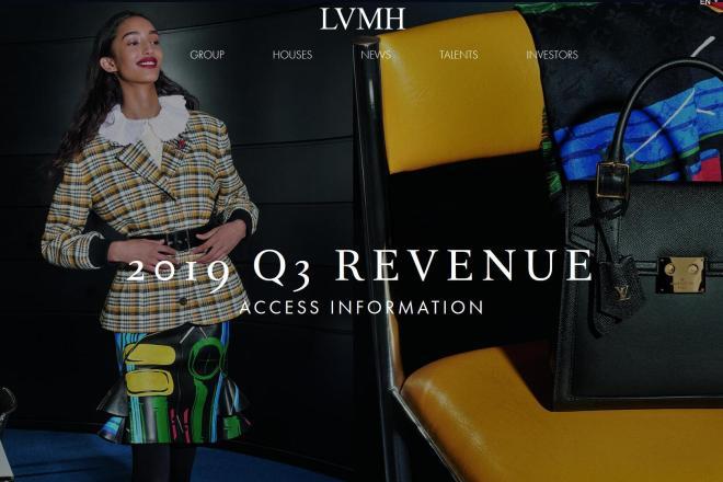 LVMH集团最新季报:净销售额同比大增17%,时装皮具增幅达22%
