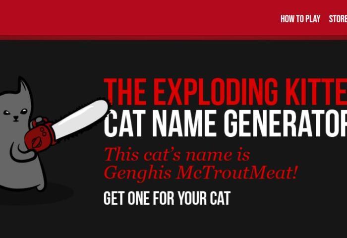 让人们放下电子屏幕,现实世界中玩耍:桌游公司 Exploding Kittens 获3000万美元投资