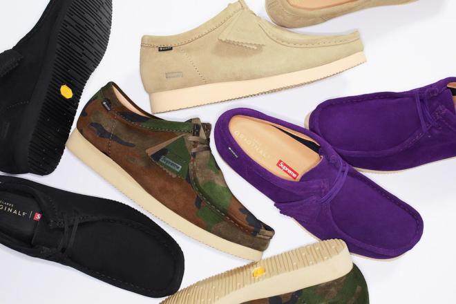 Supreme 跨界联名下一站:再度牵手英国老牌鞋履品牌 Clarks