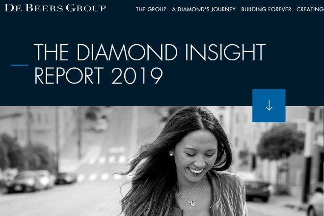 De Beers 年度钻石报告出炉:钻石婚戒价格下滑,但在中国仍有很大的市场空间