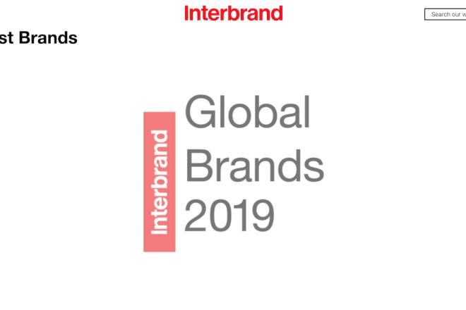 Interbrand 2019全球百大品牌榜:Nike 和 LV 的品牌价值并驾齐驱,领跑时尚和奢侈品类