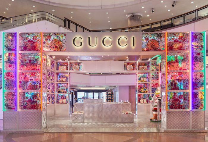 """Gucci 将融合增强现实技术,在全球开设五家主题快闪店""""Gucci Pin"""""""