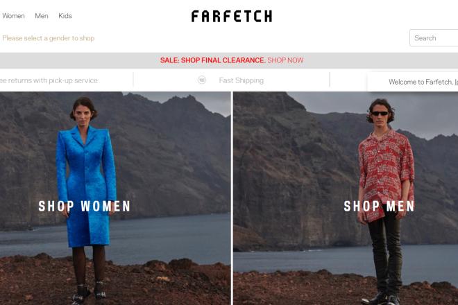 计入新收购的 Off-White 等潮牌业务,英国奢侈品电商 Farfetch上季度销售额同比大增89.9%