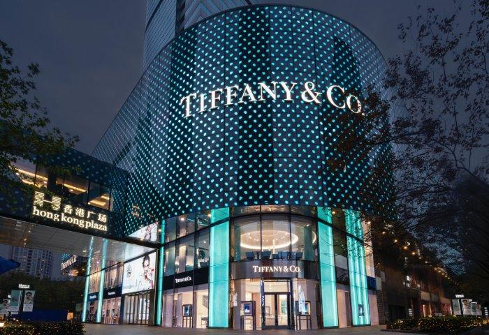 """【华丽通告】Tiffany 中国最大旗舰店暨全球第三家""""蓝盒子""""咖啡馆亮相上海香港广场"""