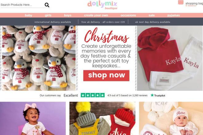 英国服装定制加工厂Slick Stitch收购英国童装品牌DollyMix Boutique