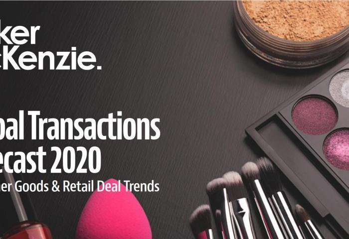 Baker McKenzie 预测:明年消费行业并购和IPO将大幅缩水,但美妆和食品饮料仍将活跃